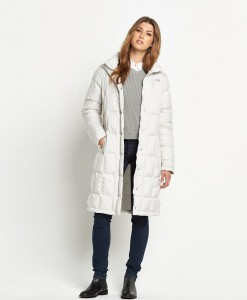 The North Face Metropolis Parka Vintage White T02