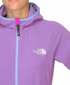 The North Face Petaluma Hoody W Azalea pink Lavendula purple T03