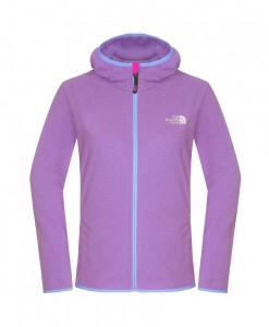 The North Face Petaluma Hoody W Azalea pink Lavendula purple T04