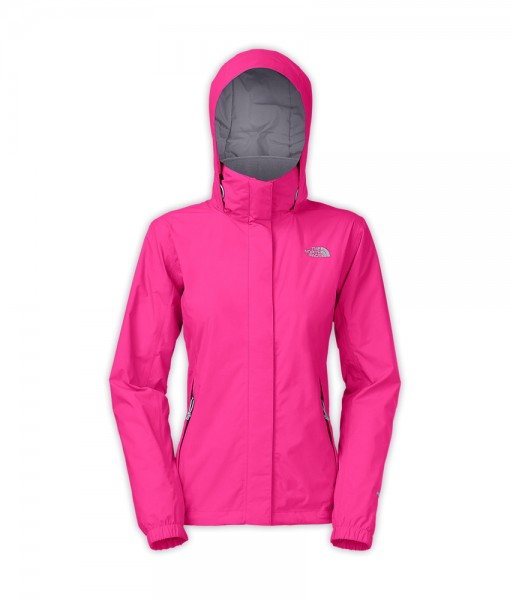 The North Face Womens Resolve Jacket Azalea Pink T01
