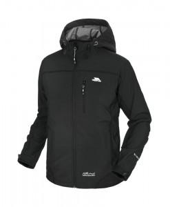 Trespass Manaslu SoftShell Jacket TP75 Black T01