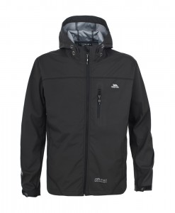 Trespass Manaslu SoftShell Jacket TP75 Black T02