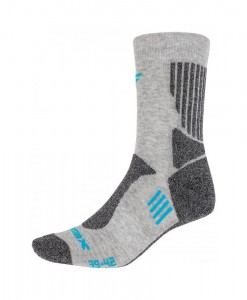 Chaussettes 4F Trekking Socks SOUT002 Light Grey