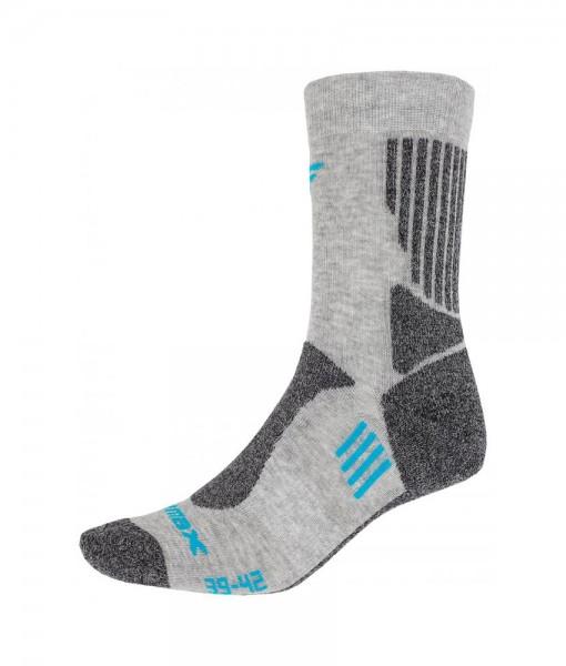 Chaussettes 4F Trekking Socks SOUT002 Light Grey C01