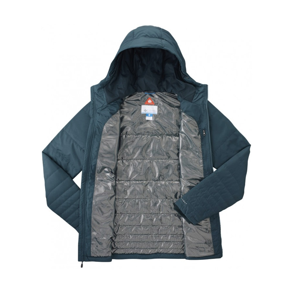 Columbia Go To Hooded Jacket Everblue | Terres Extrêmes