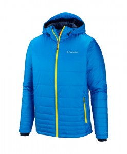 Columbia Go To Hooded Jacket Hyper Blue