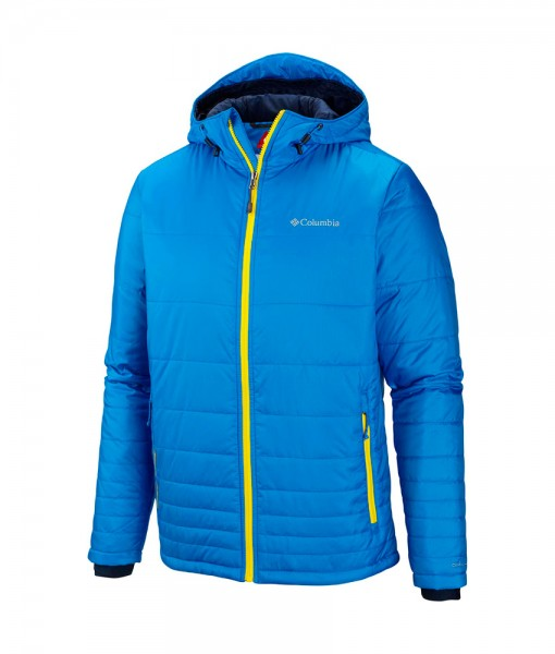 Columbia Go To Hooded Jacket Hyper Blue C03