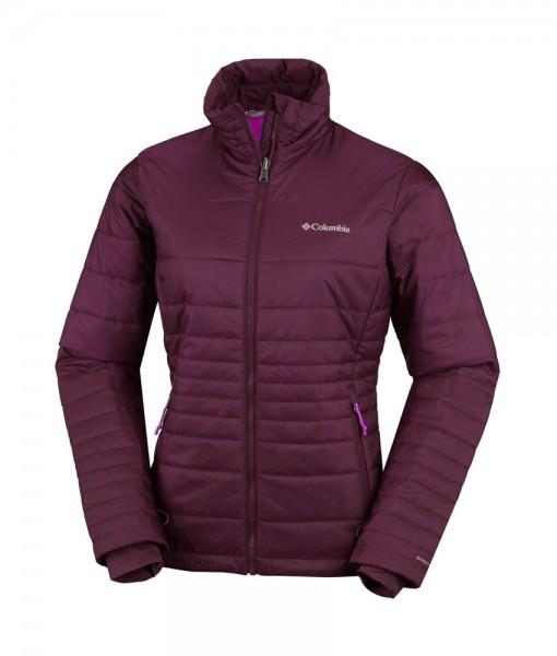 Columbia Go To Jacket W Purple Dahlia Bright Plum C03