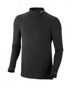 Columbia Men's Baselayer Midweight Mock Neck LS