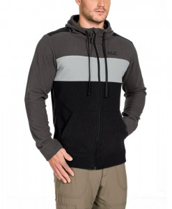 Jack Wolfskin Block Jacket Black Men