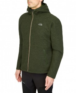 Veste The North Face Zermatt FZ Hoodie Scallion Green Heather T01