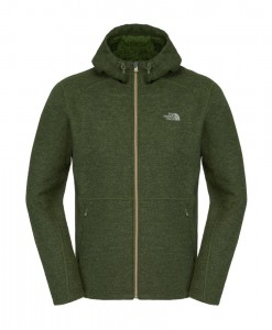 Veste The North Face Zermatt FZ Hoodie Scallion Green Heather T02