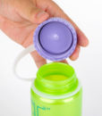 Nalgene Everyday 500ml Wide Mouth Key lime Purple Cap