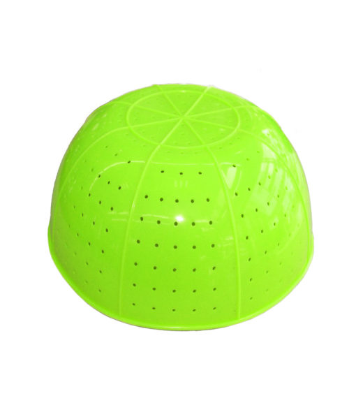 Komi collapsible silicone strainer Green