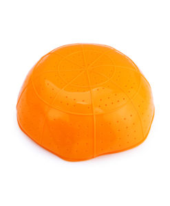 Komi collapsible silicone strainer Orange
