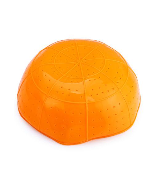 Komi collapsible silicone strainer Orange