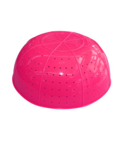 Komi collapsible silicone strainer Pink