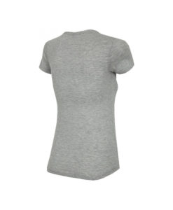 T-shirt 4F TSD Bio Graphic Grey Melange Women TSD014 F02