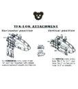 Tactical Teddy Tek-Lok Clip For Kydex Sheath TT10