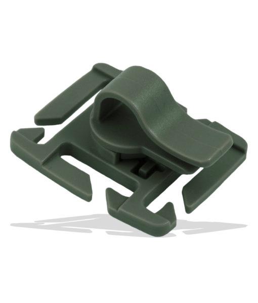 Tactical Teddy Tube Clip Hydration 360 MOLLE Green