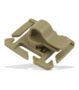 Tactical Teddy Tube Clip Hydration 360 MOLLE Tan