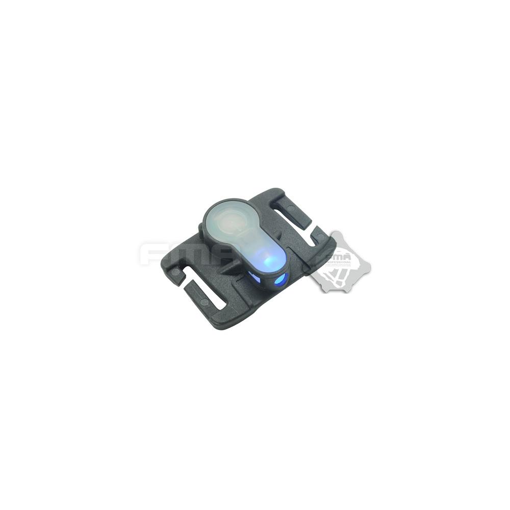 S Molle Light Black Fma Strobe Lite System Blue stQChrdx