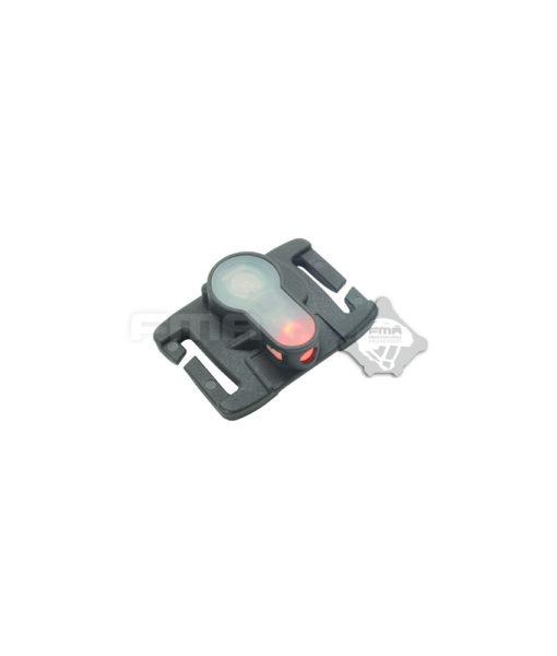 FMA S-Lite MOLLE System Strobe Light TB906 BK RD
