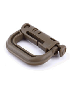 Tactical Teddy D-Ring Push Lock AAF Brown