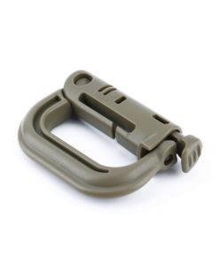 Tactical Teddy D-Ring Push Lock Desert Mint