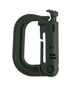 Tactical Teddy D-Ring Push Lock OD-Green