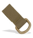 Tactical Teddy D-Ring Strap MOLLE Tan