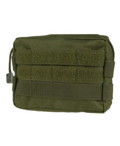 Tactical Teddy Horizontal Pouch 7 OD Green Pochette MOLLE multi-usages