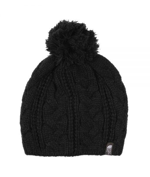 The North Face Bigsby Pom-Pom Beanie Black T01