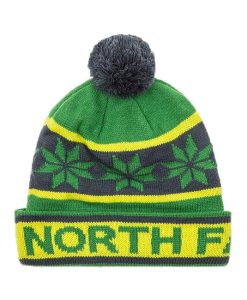 The North Face Ski Tuke III Beanie Flashlight Green T01