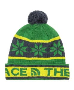 The North Face Ski Tuke III Beanie Flashlight Green T02