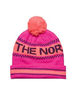 The North Face Ski Tuke IV Beanie Azalea Pink T01