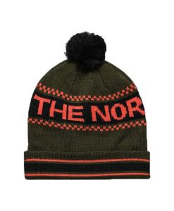 The North Face Ski Tuke IV Beanie Forest Night Green T01