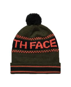 The North Face Ski Tuke IV Beanie Forest Night Green T02
