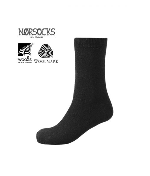 Norsocks Comfort Warm Socks Black