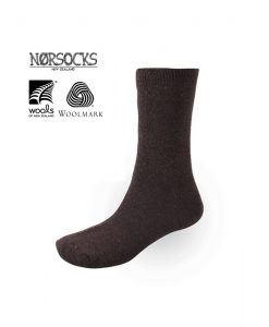 Norsocks Comfort Warm Socks Brown