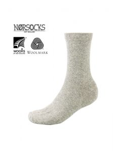 Norsocks Comfort Warm Socks Light Grey