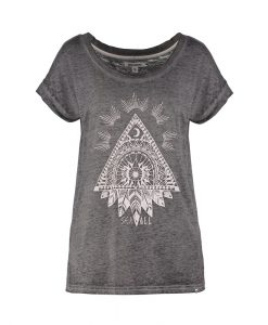 T-Shirt Billabong All Night Dark Athletic Grey