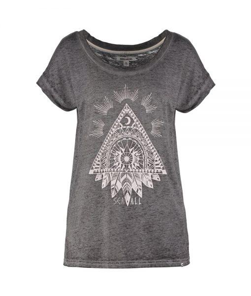 T-Shirt Billabong All Night Dark Athletic Grey