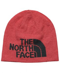 The North Face Highline Beanie Rambutan Pink Asphalt Grey T01