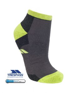 Trespass Inclined Trainer Socks Kiwi