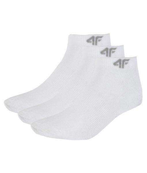 Chaussettes 4F SOD001 White Sport Socks