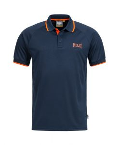 Polo Everlast EVR9703 Fluo SL Navy