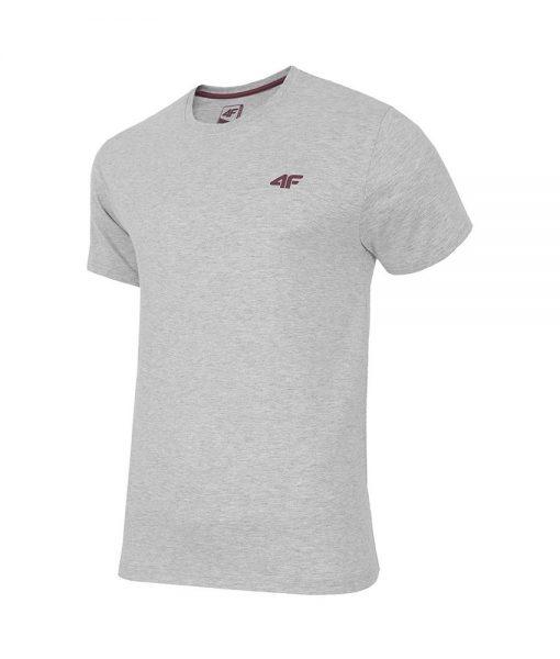 T-Shirt 4F TSM001 Light Grey Melange