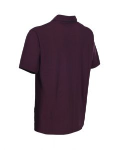 Trespass Uphill Mens Polo Top Deep Shiraz